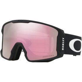 Oakley Line Miner XM Snow Goggles Damen matte black/w prizm snow hi pink iridium